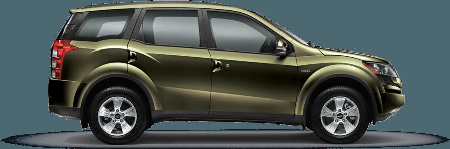 Mahindra XUV 500 Amazon Green Color
