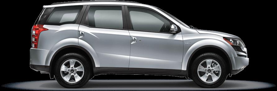 Mahindra XUV 500 MoonDust Silver Color
