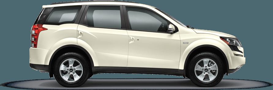 Mahindra XUV 500 Satin White Color