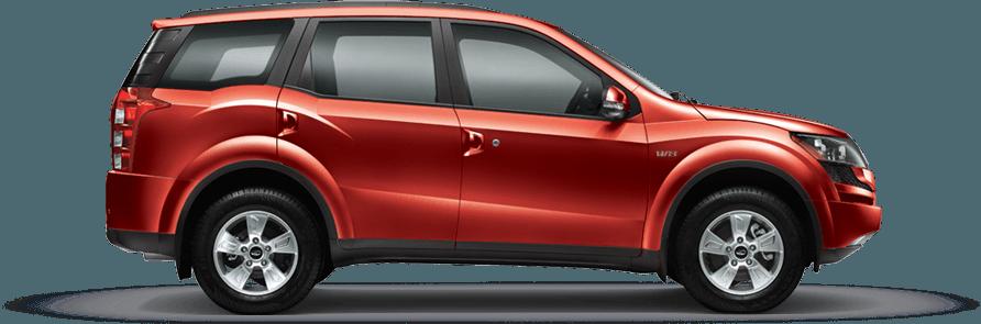 Mahindra XUV 500 Tuscan Red Color
