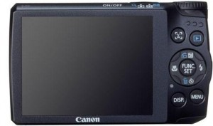 Canon A3300 Back View