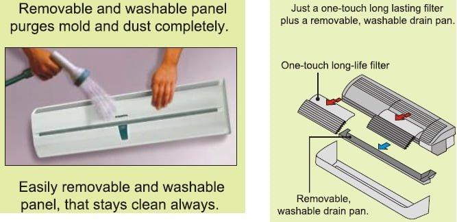 O'General Split Air Conditioner (AC) Easy Maintenance