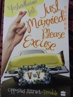 just married please excuse book price