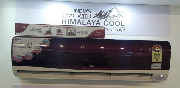 LG Air Conditioner with Himalaya Cool Technology