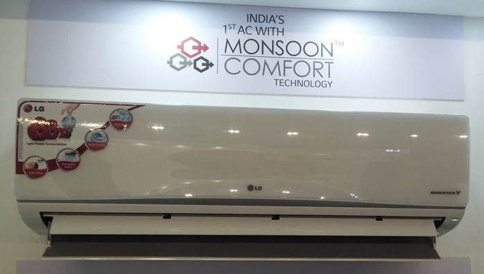 LG Air Conditioner with Monsoon Comfort Technology