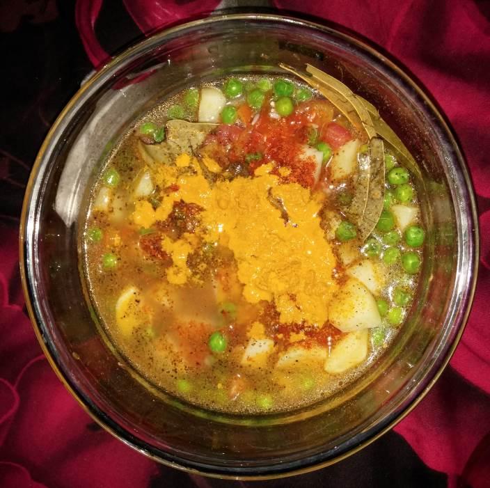 Tahiri prepared for cooking