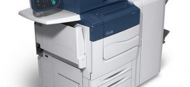 Xerox launched Color C70 Printer with External Fiery and Single OHCF