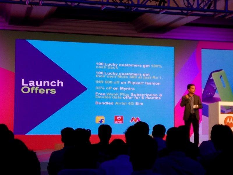 Moto G Bundled Offers Flipkart Airtel