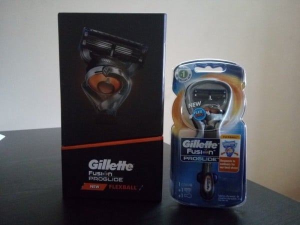 Gillette Flexball Fusion Packing