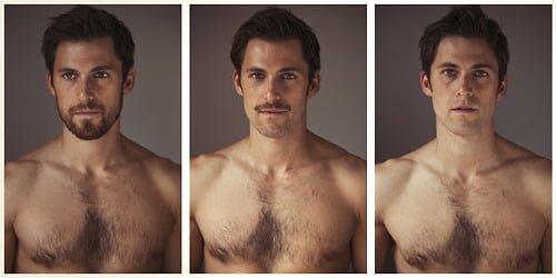 3 forms of Facial Hair