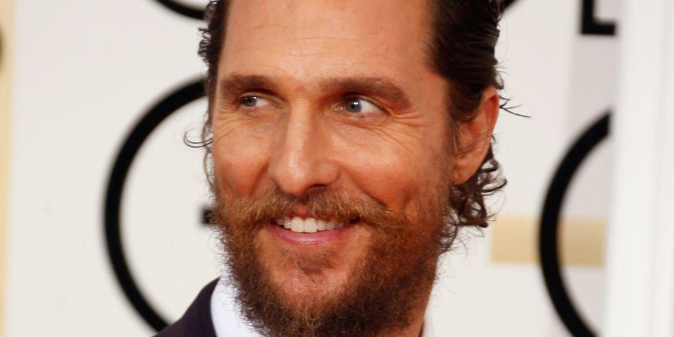 Man with Heavy Beard