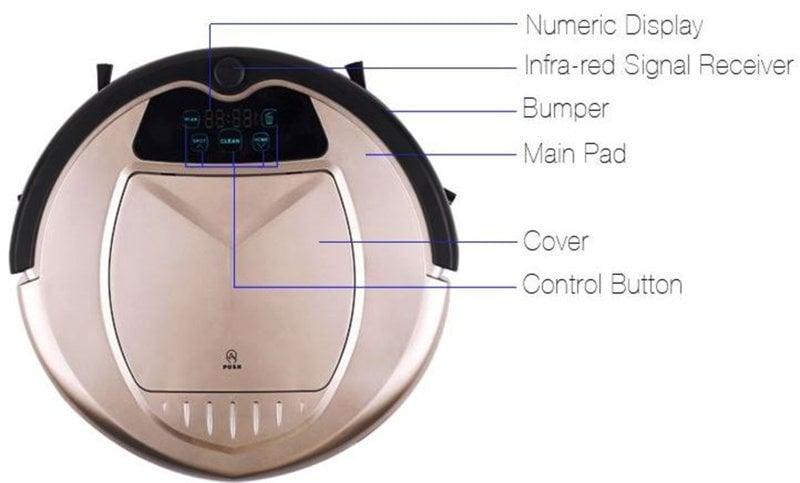 Extra Dirt Sensors Robotic Suction Power Control