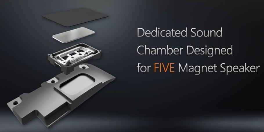 5 Magnet speaker