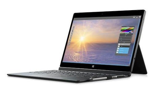 Dell Slim Keyboard Folio compatible with the XPS 12 9250 notebook.