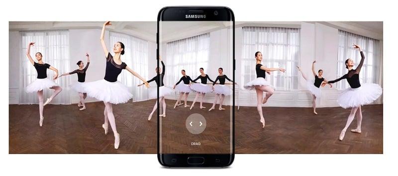 Galaxy S7 Motion Panaroma
