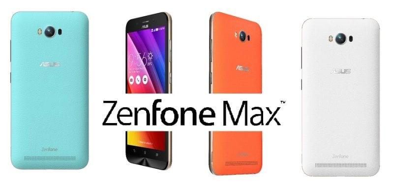 New Zenfone Max Color Variants