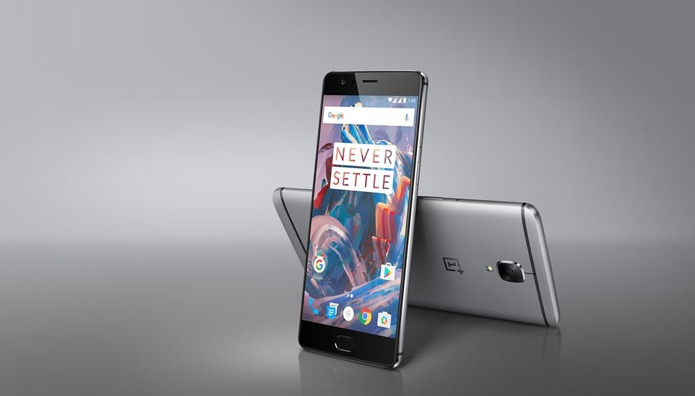 OnePlus3 Front and Back Merged