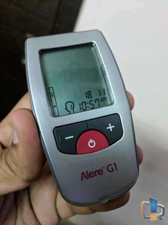 Alere G1 Device Front