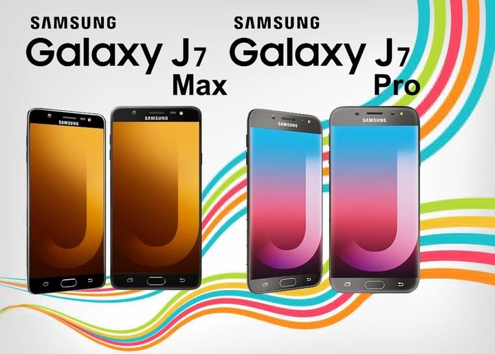 Samsung Galaxy J7 Max and J7 Pro