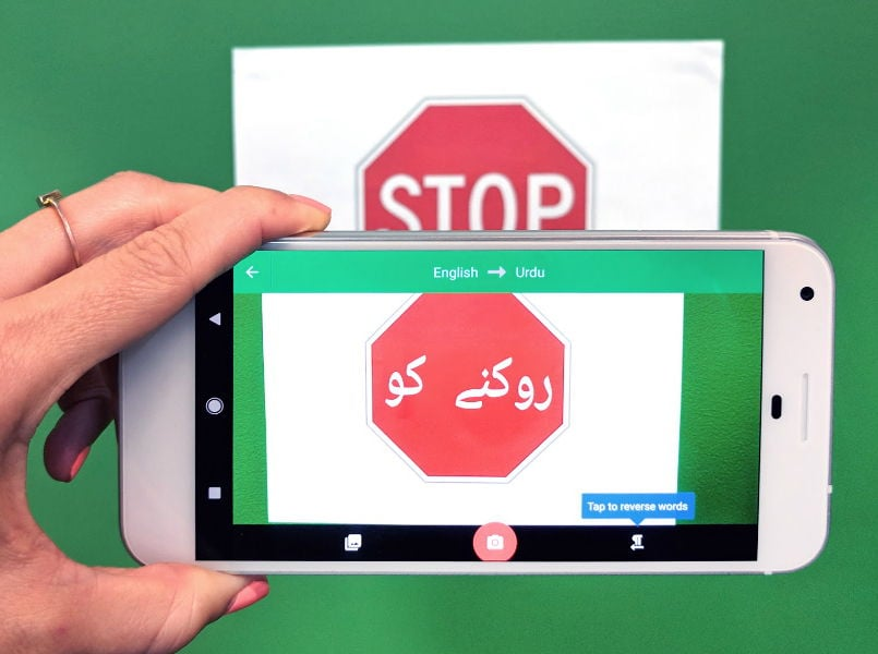 Google Translate now support Word Lens in Indian languages