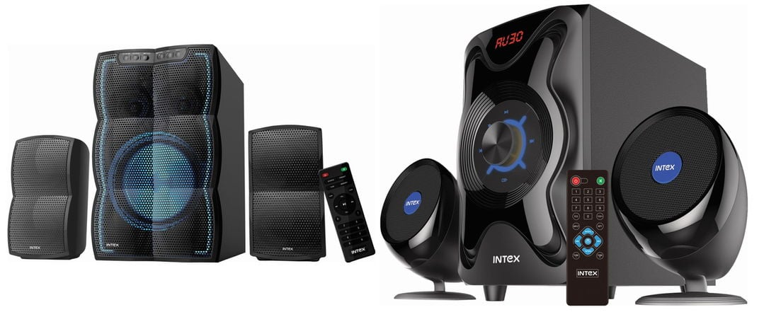 Intex IT-3510 FMUB and IT-3030 SUFB Home Speakers