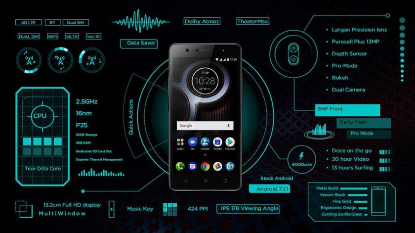 Lenovo K8 Plus Launched In India