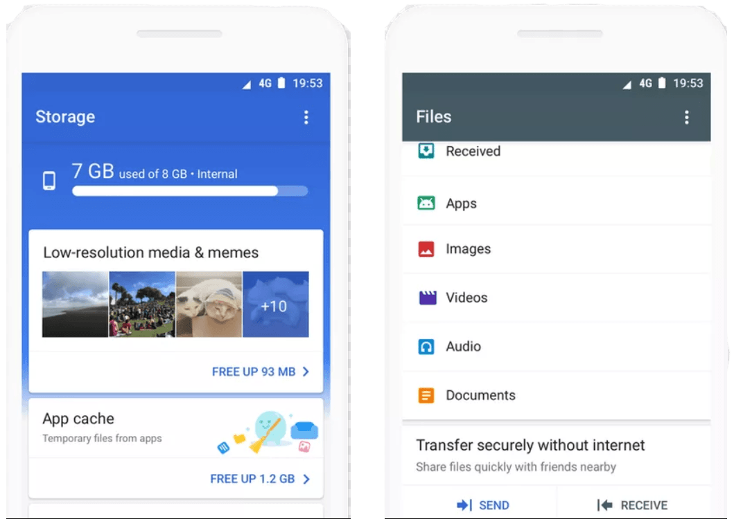 Files Go from Google