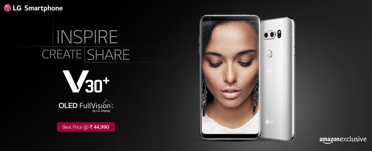 LG V30+ launched in India
