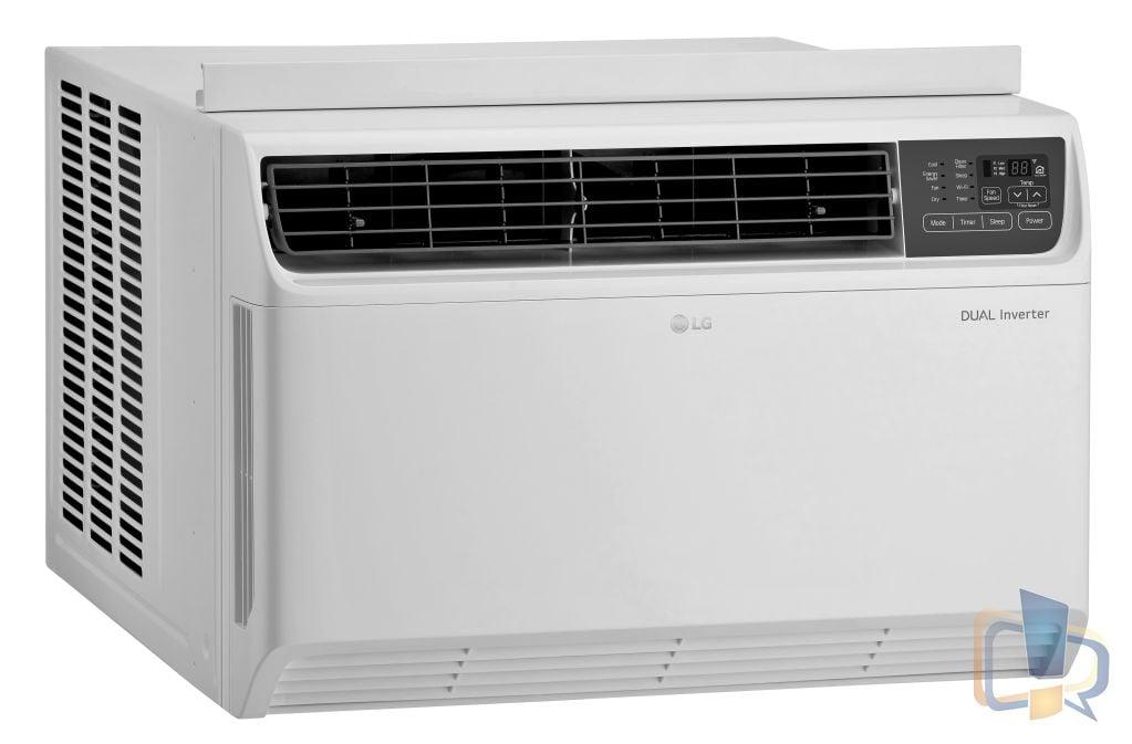 LG Dual Inverter Window AC - LW2217IVSM LeftSide