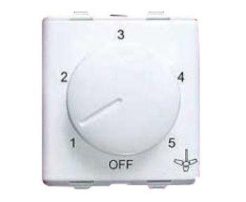 Step-type fan regulator