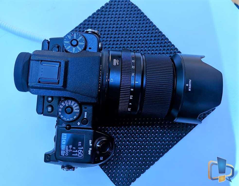 Fujifilm GFX50s Top View
