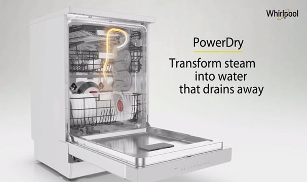 Whirlpool Dishwasher PowerDry