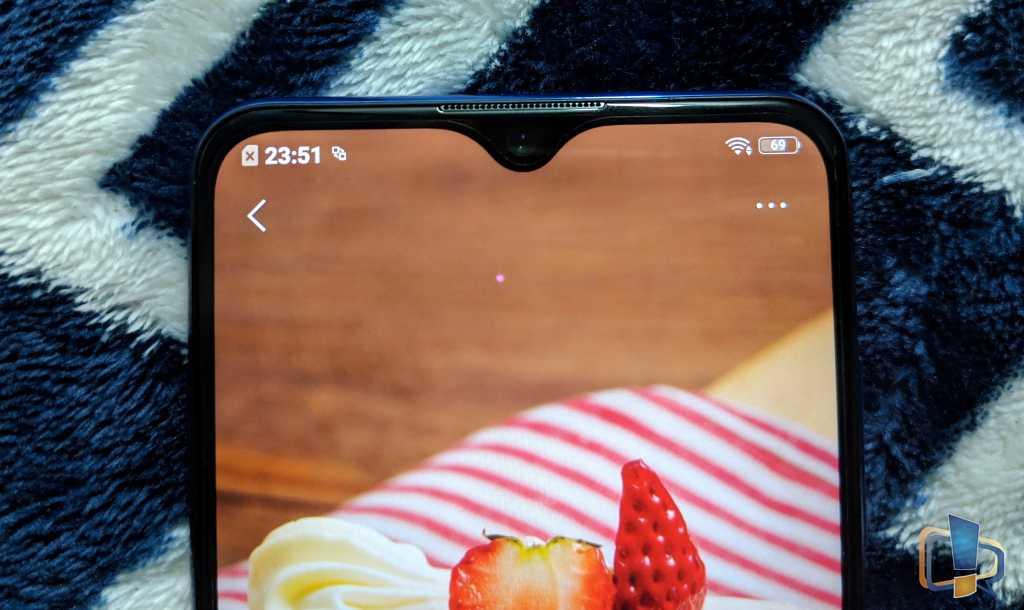 Vivo Y95 Front Camera