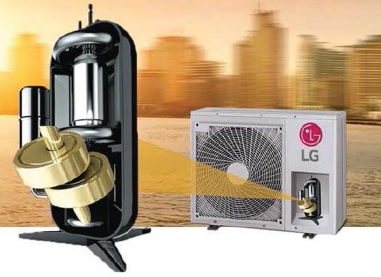 LG Dual Rotor Inverter Compressor