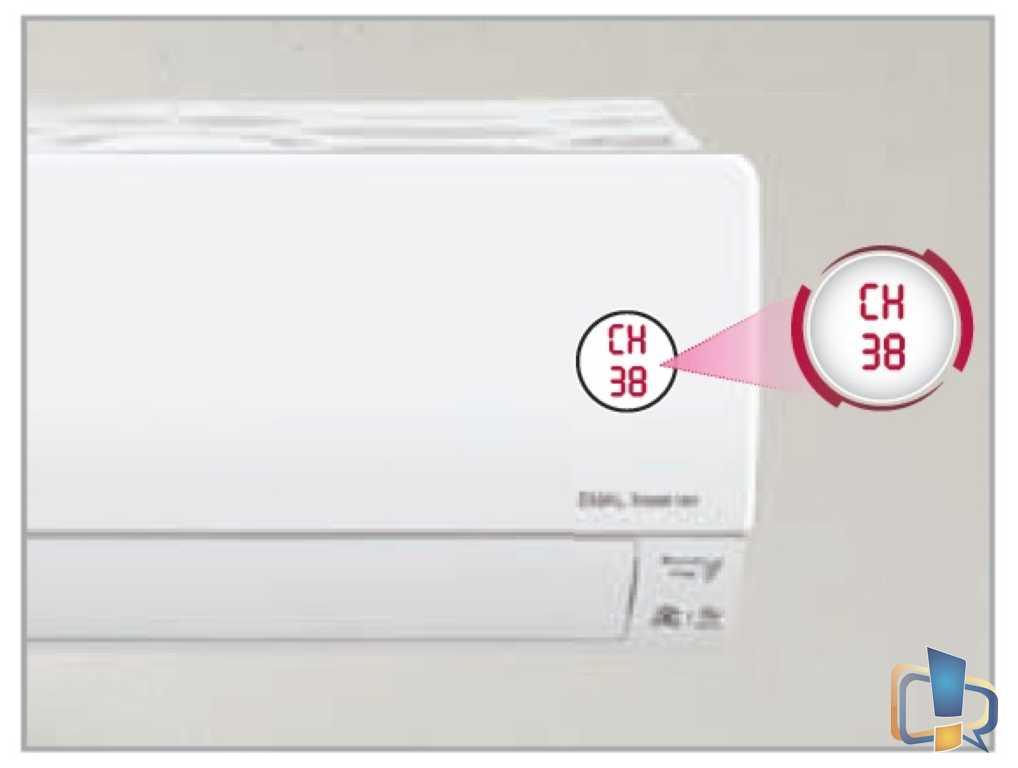 LG Low Refrigerant Level CH 38