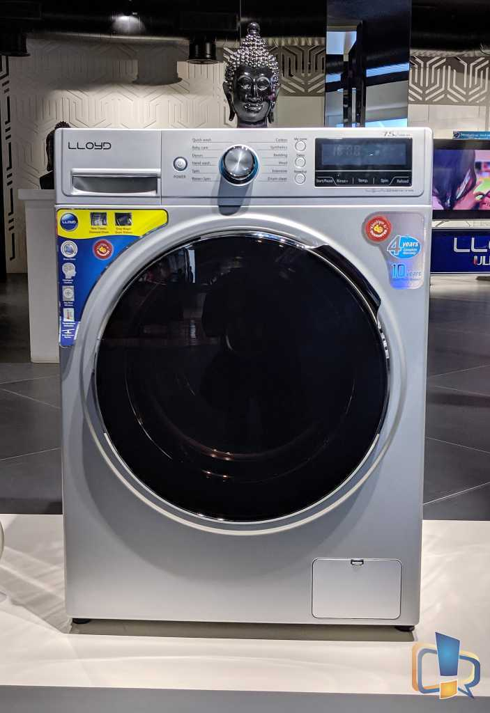 Lloyd Fully Automatic Front Load Washing Machine