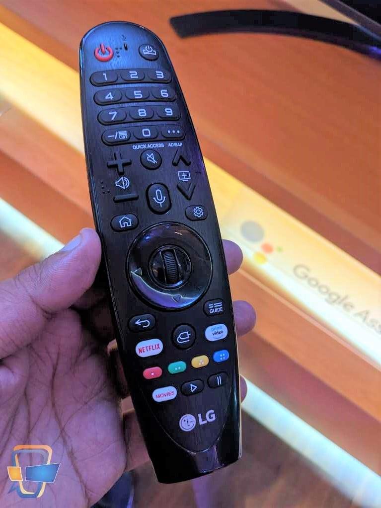 LG AI TV Remote