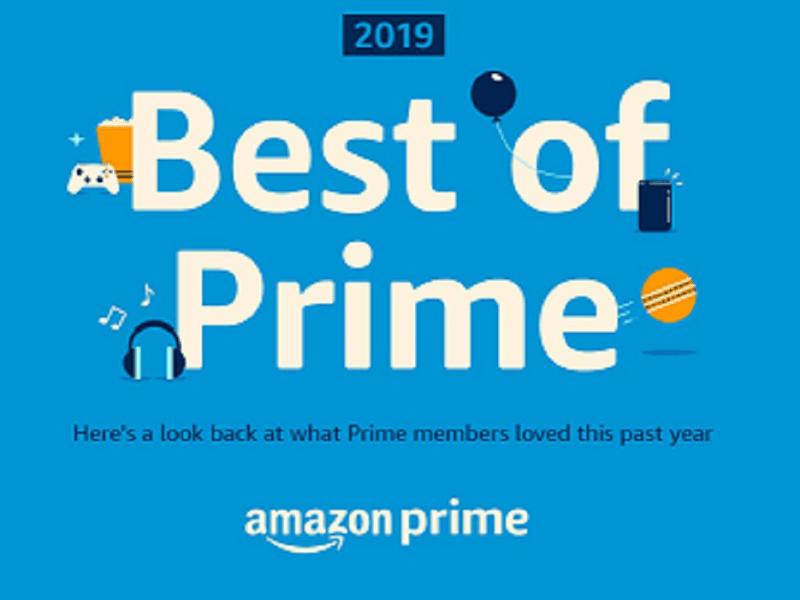 Amazon India's Best of Prime 2019