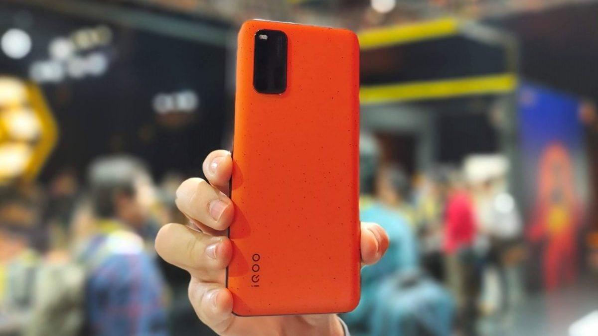 iQOO 3 Orange Variant