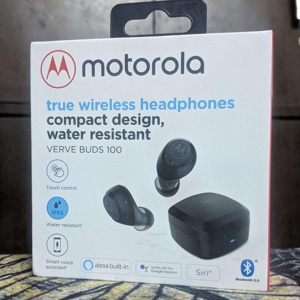 Motorola Verve Buds 100 box