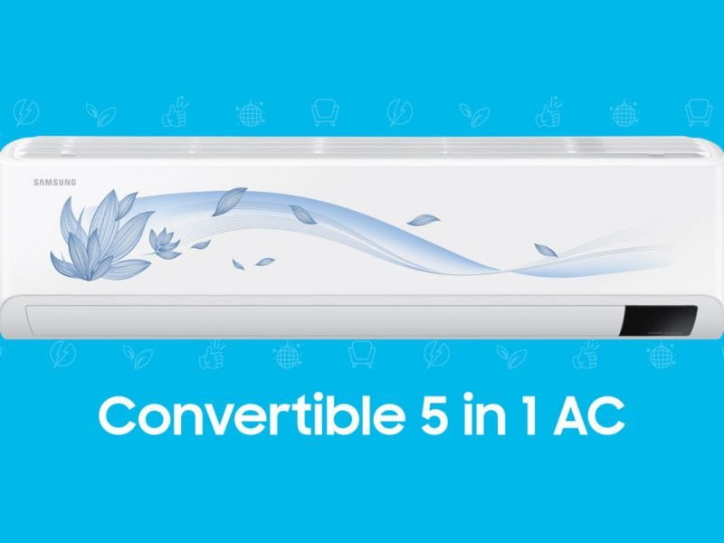 Samsung 2021 Lineup of Air Conditioners Includes Convertible 5-in-1 and Hot & COld Inverter ACs